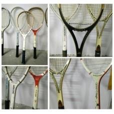 ไม้เทนนิส งานเก่า วัสดุไม้ 8 อัน
